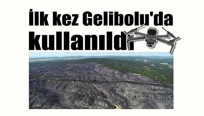 İlk kez Gelibolu'da kullanıldı
