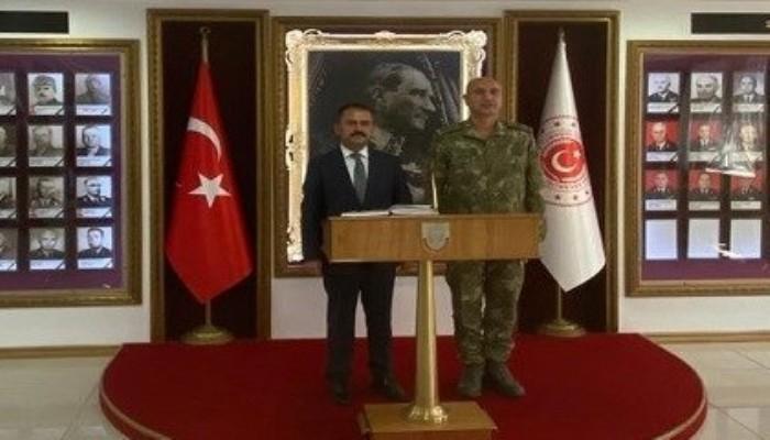 Vali Aktaş Gelibolu Kaymakamı ve 2. Kolordu Komutanlığını Ziyaret Etti