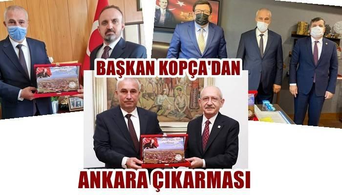 Başkan Kopça'dan Ankara çıkarması