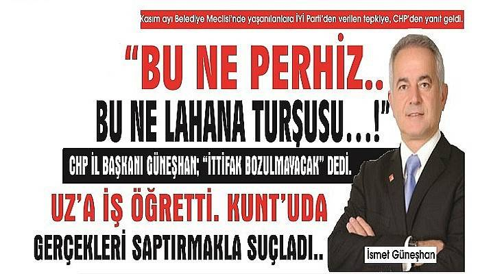 """BU NE PERHİZ.. BU NE LAHANA TURŞUSU…!"""