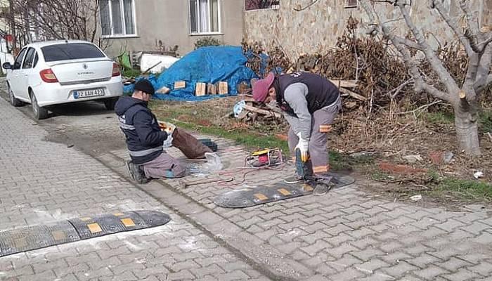 Çardak'ta belediye çalışmaları devam ediyor