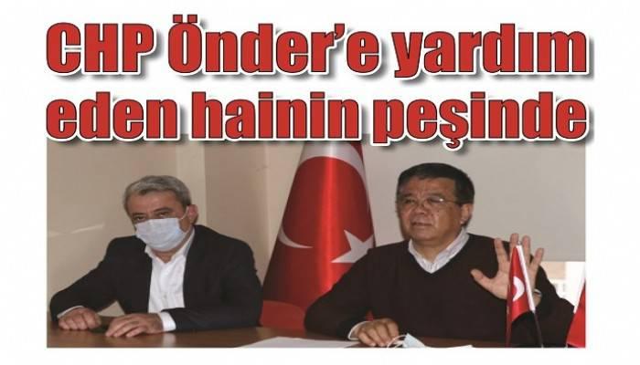 'BU İHANETİ ÇANAKKALE HALKI UNUTMAYACAKTIR': CHP Önder'e yardım eden hainin peşinde