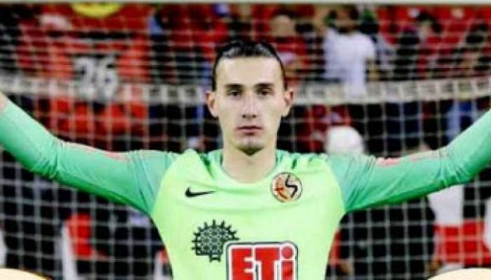 Çanakkaleli genç kaleci Süperlig'e transfer oldu