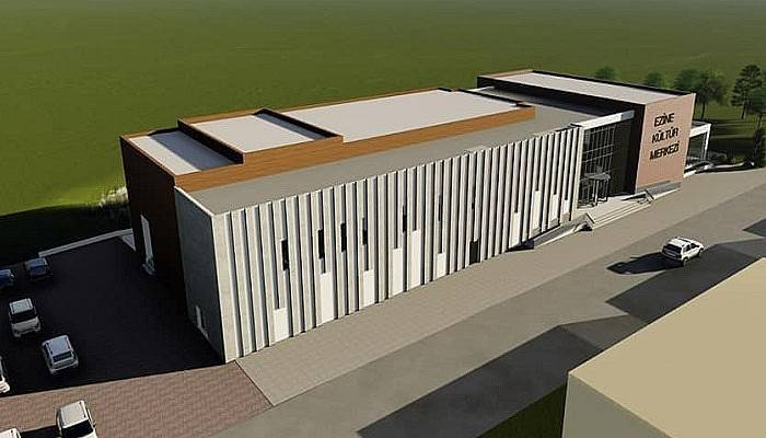 Ezine Kültür Merkezinin inşaatı başlıyor