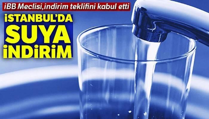 İstanbul'da su fiyatlarında yüzde 46'ya varan indirim