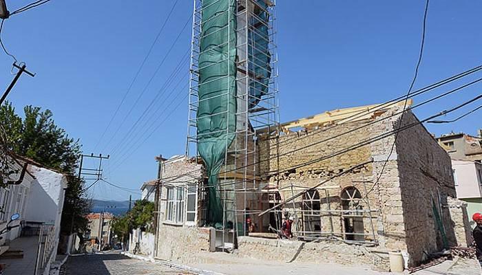557 Yıllık tarihi camii restore ediliyor (VİDEO)