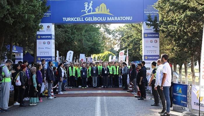 """Turkcell Gelibolu Maratonu """"Adımlar Fidana"""" Temasıyla 100 Bin Fidan"""
