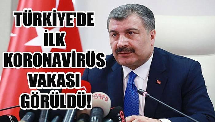 Türkiye'de ilk koronavirüs vakası görüldü!