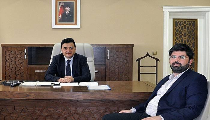 Uslu'dan Genel Sekreter Köklü'ye Ziyaret