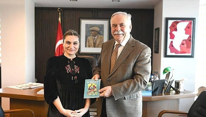 Biçici'den Başkan Gökhan'a ziyaret