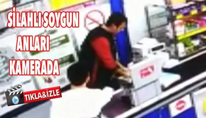 Biga'da silahlı soygun (VİDEO)