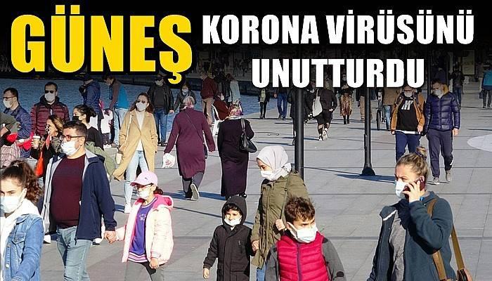 Güneş korona virüsü unutturdu (VİDEO)