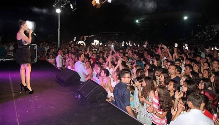 Etili köyünde halk konseri düzenlendi