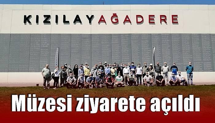 Kızılay Ağadare müzesi ziyarete açıldı