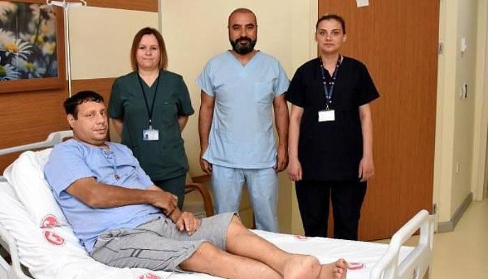 İki Böbreğini Kaybetti, Nakille Sağlığına Kavuştu