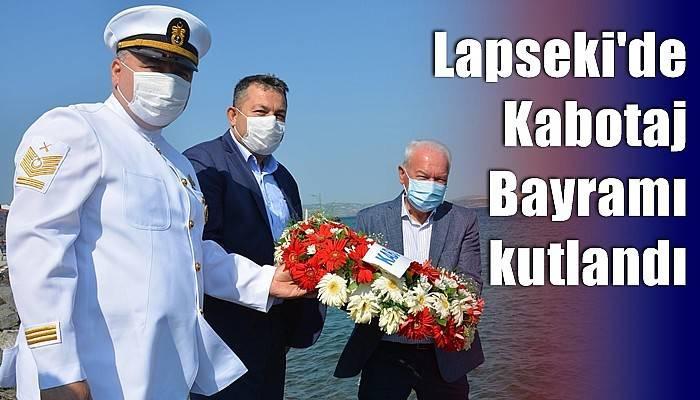 Lapseki'de Kabotaj Bayramı kutlandı
