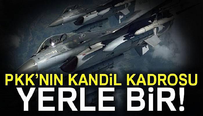 Suriye'de PKK'nın Kandil kadrosu yerle bir
