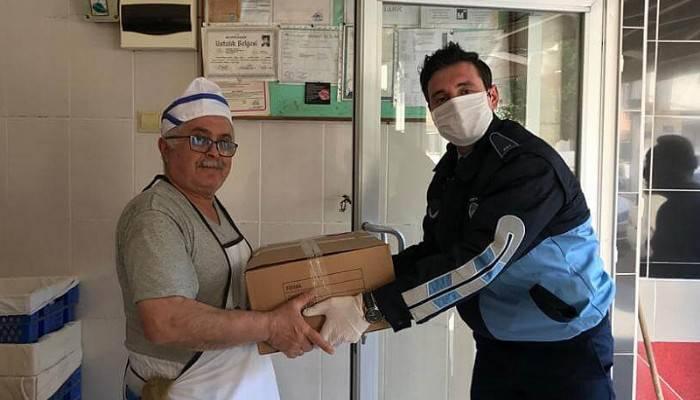 Çanakkale Belediyesi fırınlara pide kağıdı dağıttı