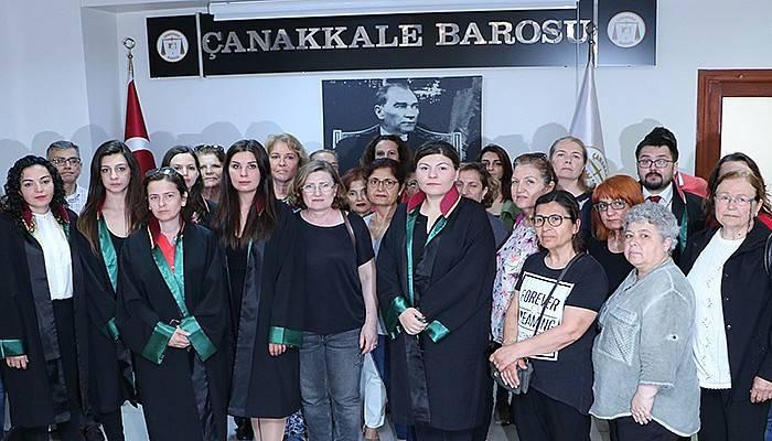 Çanakkale Barosu Kadın Hakları Komisyonundan Açıklama (VİDEO)