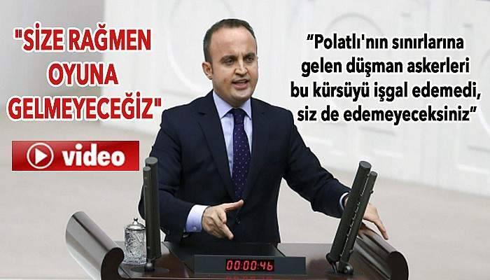 AK Partili Turan'dan CHP'li vekillere sert sözler (VİDEO)
