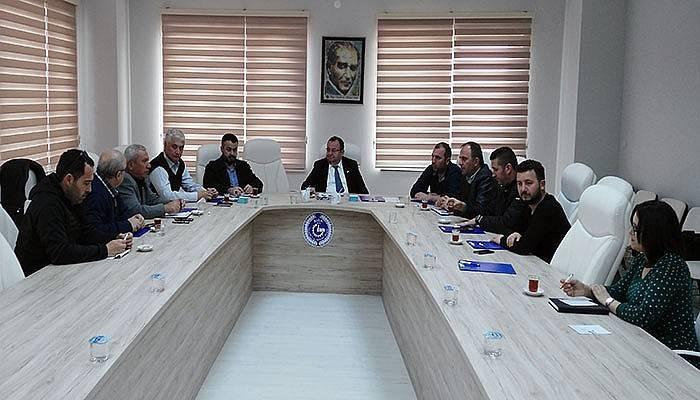 Biga TSO meslek komite başkanları toplandı
