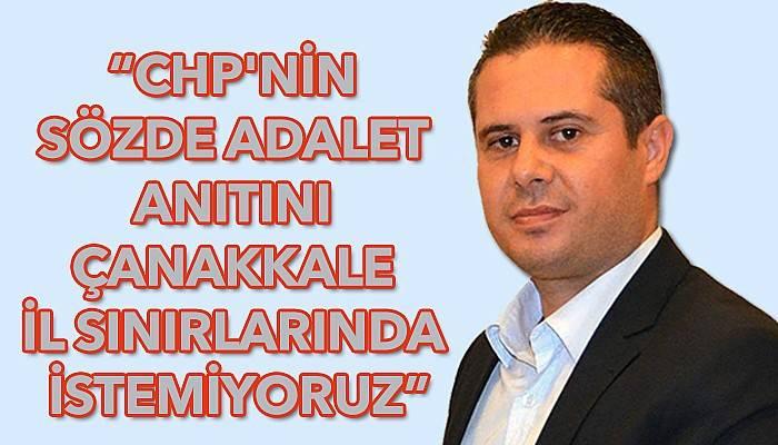 AK Partili Yıldız'dan Adalet Anıtı tepkisi