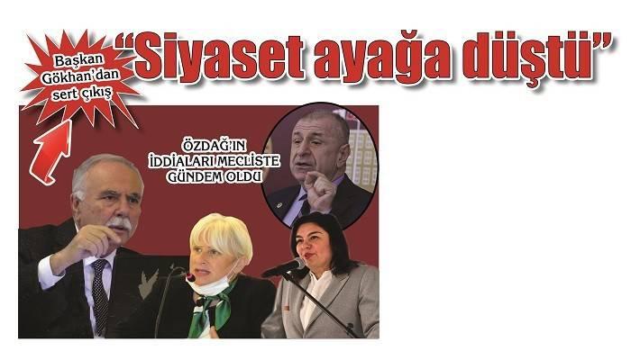 ÖZDAĞ'IN İDDİALARI MECLİSTE GÜNDEM OLDU: 'Siyaset ayağa düştü, partisine ihanet eden adamı gündeme getiriyorsunuz'