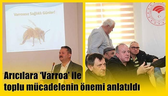 Arıcılara 'Varroa' ile toplu mücadelenin önemi anlatıldı