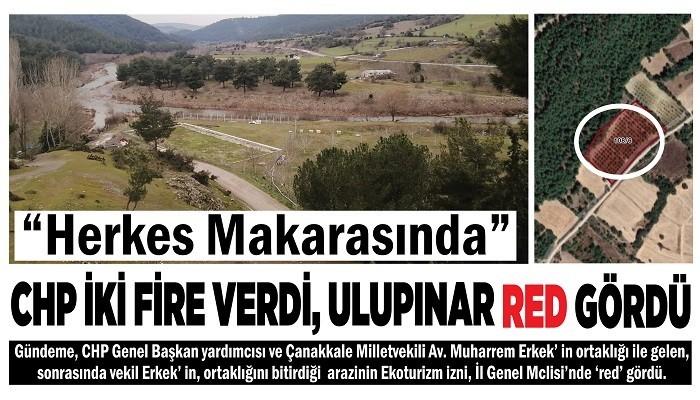 'HERKES MAKARASINDA' CHP İKİ FİRE VERDİ, ULUPINAR RED GÖRDÜ