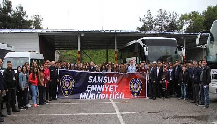 Emniyetten 80 Öğrenciye Çanakkale Gezisi