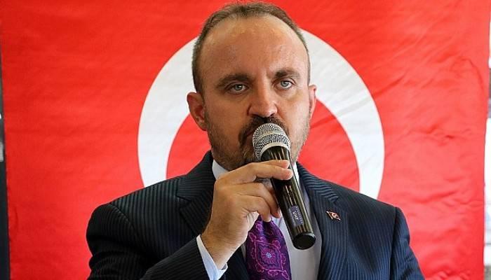 AK Parti'li Turan: Mesele Türkiye'nin büyümesini, gelişmesini önleme iddiası