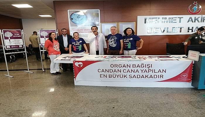 HER BAĞIŞ YENİ BİR HAYATTIR Organ Bağışı haftası başladı