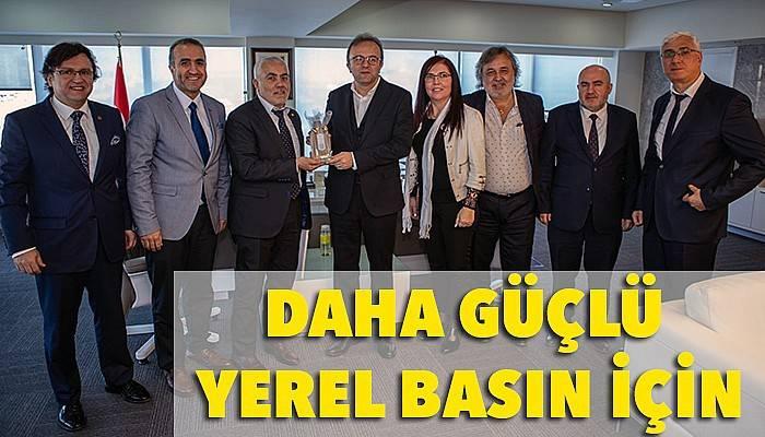 Marmara Gazeteciler Federasyonu, BİK Genel Müdürü Duran ile buluştu