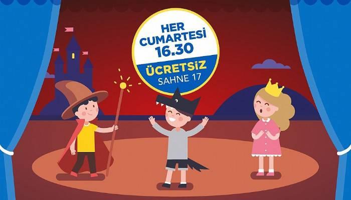 Çocuk tiyatroları 17 Burda'da devam ediyor