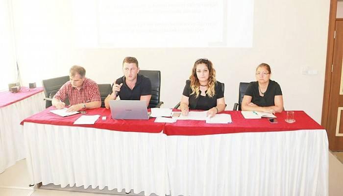Okul Yöneticilerine İş Sağlığı ve Güvenliği Eğitimi Verildi