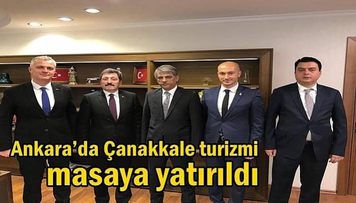 Ankara'da Çanakkale turizmi masaya yatırıldı
