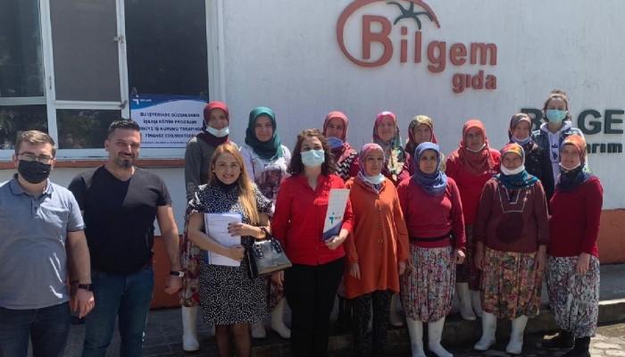 Yenice'de 11 kişilik işbaşı eğitim programı başlatıldı