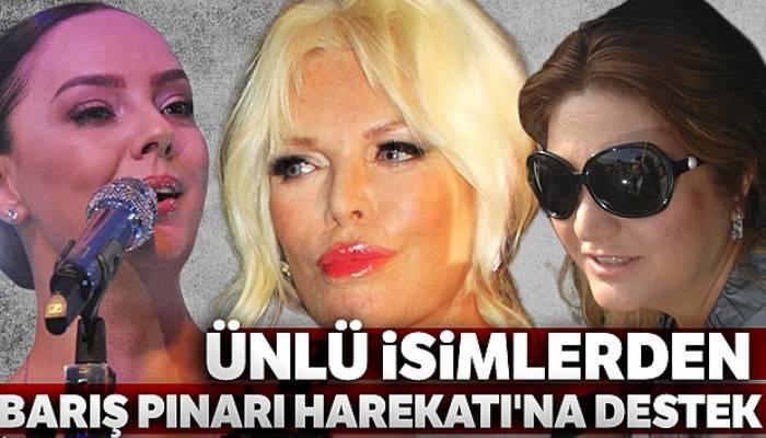 Ünlü isimlerden Barış Pınarı Harekatı'na destek