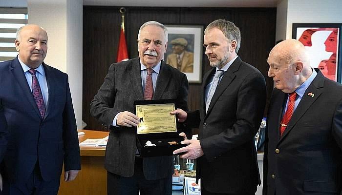 Başkan Gökhan, Büyükelçi Sadovic'i Ağırladı