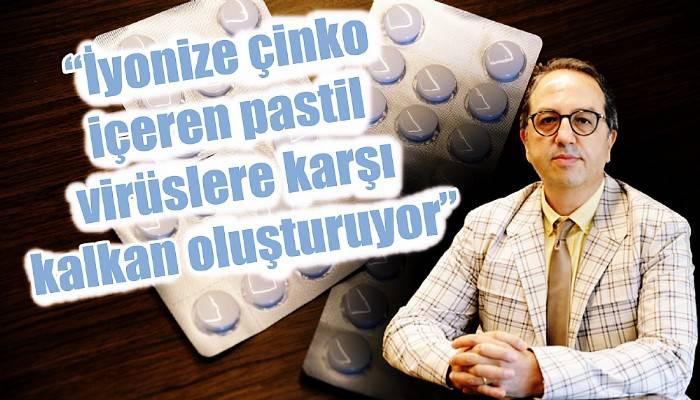 Prof. Dr. Alper Şener: 'İyonize çinko içeren pastil virüslere karşı kalkan oluşturuyor' (VİDEO)