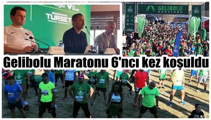 Gelibolu Maratonu 6'ncı kez koşuldu