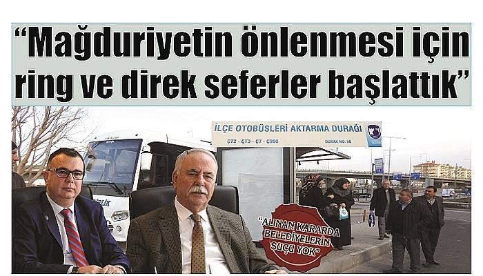 """""""ALINAN KARARDA BELEDİYELERİN SUÇU YOK"""" (VİDEO)"""