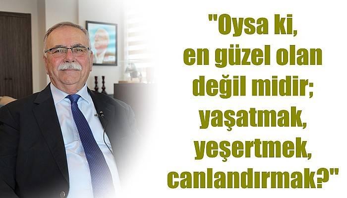 Başkan Gökhan'dan Dünya Barış Günü Mesajı