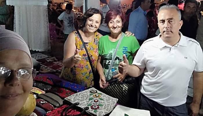 Üretici kadınlar sergi açtı