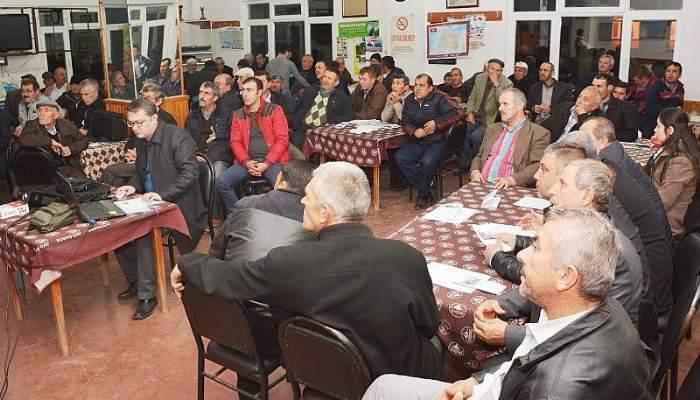 Üreticilere desteklemelerle ilgili bilgilendirme toplantısı