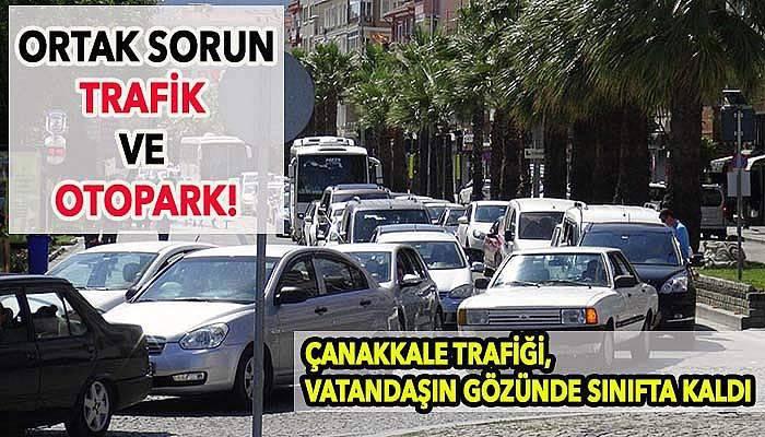 Trafik sıkışıklığı ve yetersiz otopark kentlinin ortak sorunu