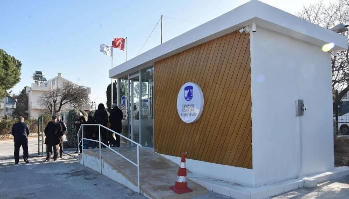 Güzelyalı hizmet binası açıldı