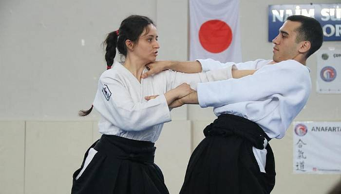 Kadınlara Aikido semineri verildi