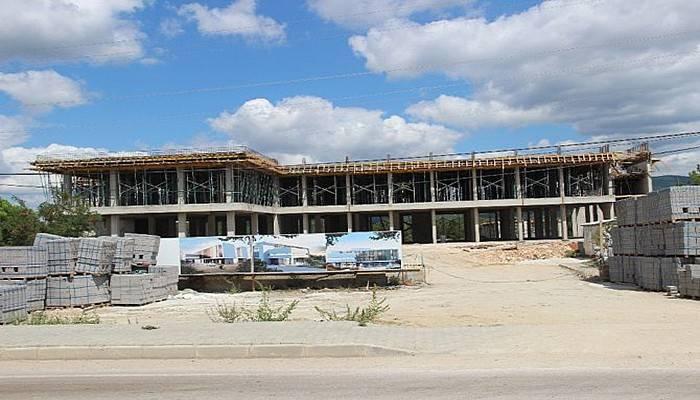 Yenice Devlet Hastanesi inşaatı hızla yükseliyor