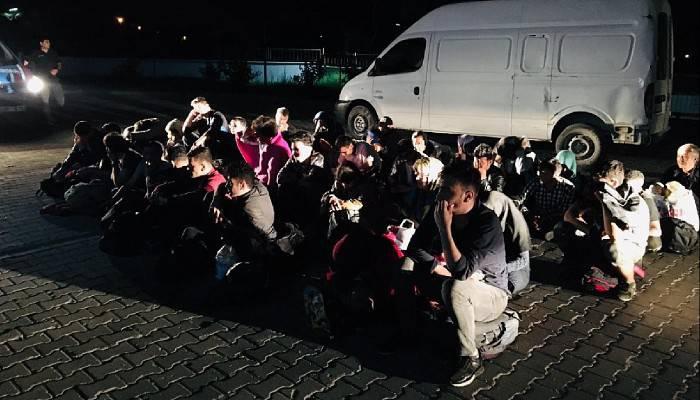 Çanakkale'de 91 mülteci yakalandı